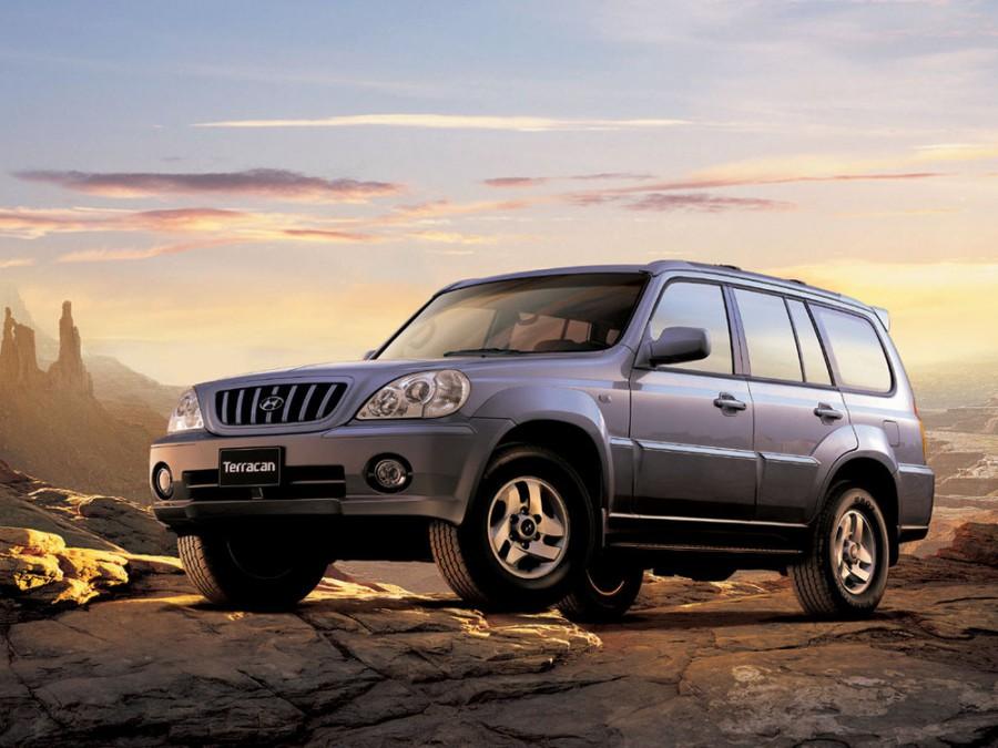 Hyundai Terracan внедорожник, 2001–2004, 1 поколение - отзывы, фото и характеристики на Car.ru
