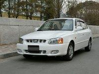 Hyundai Verna, LC, Седан, 2000–2003