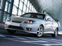 Hyundai Tiburon, GK F/L [рестайлинг], Купе, 2005–2006