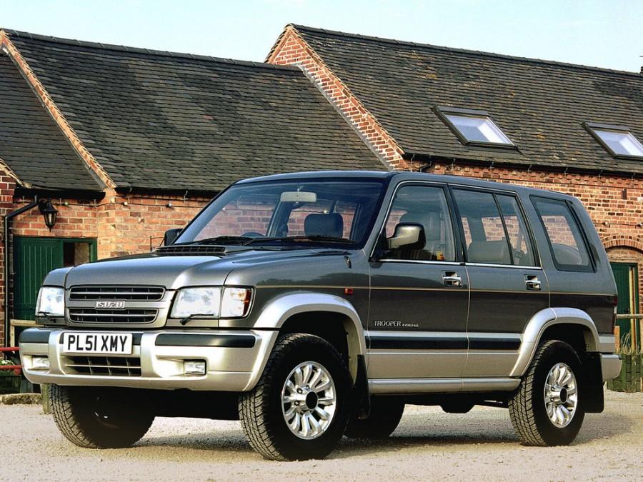 Isuzu Trooper внедорожник 5-дв., 1997–2003, 2 поколение - отзывы, фото и характеристики на Car.ru