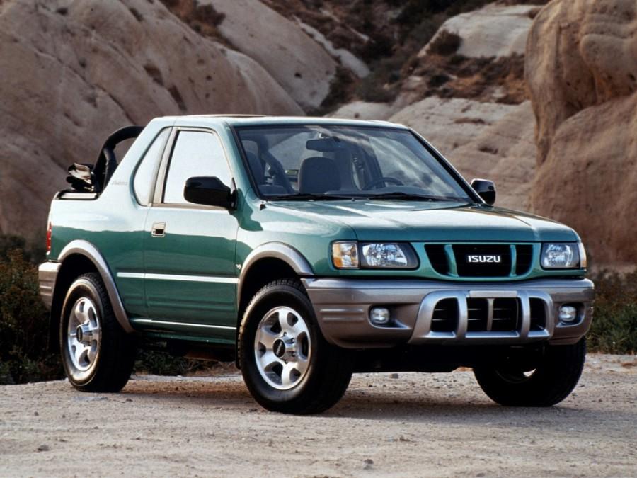 Isuzu Amigo Soft top внедорожник, 2000–2001, 2 поколение [рестайлинг] - отзывы, фото и характеристики на Car.ru