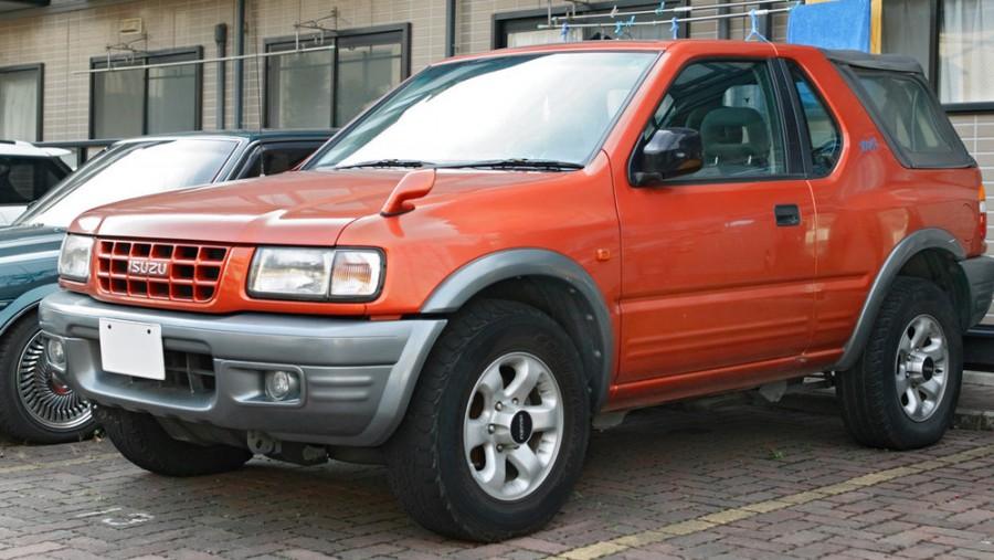 Isuzu Rodeo внедорожник 3-дв., 1998–2014, 1 поколение - отзывы, фото и характеристики на Car.ru