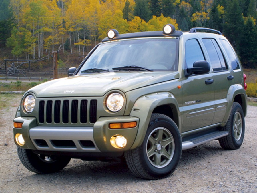 Jeep Cherokee внедорожник, 2001–2007, KJ - отзывы, фото и характеристики на Car.ru