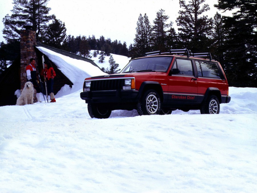 Jeep Cherokee внедорожник 3-дв., 1988–2001, XJ - отзывы, фото и характеристики на Car.ru
