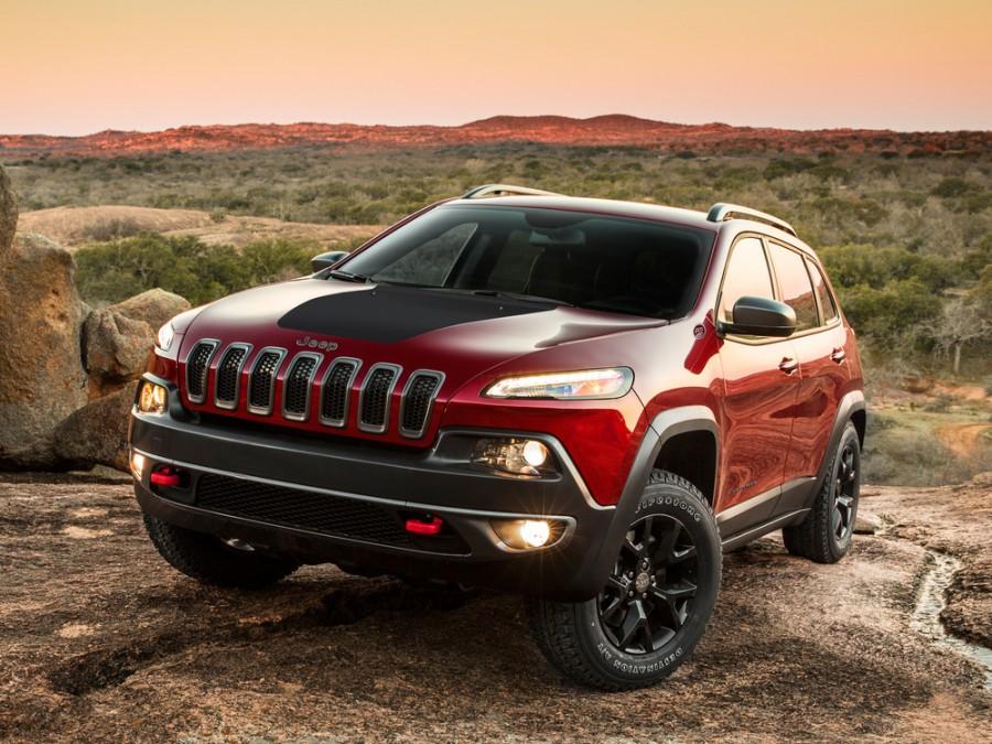 Jeep Cherokee Trailhawk внедорожник 5-дв., 2013–2016, KL - отзывы, фото и характеристики на Car.ru