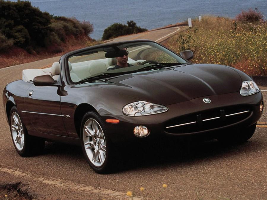 Jaguar XK XK8 кабриолет, 2002–2004, Х100 [рестайлинг] - отзывы, фото и характеристики на Car.ru