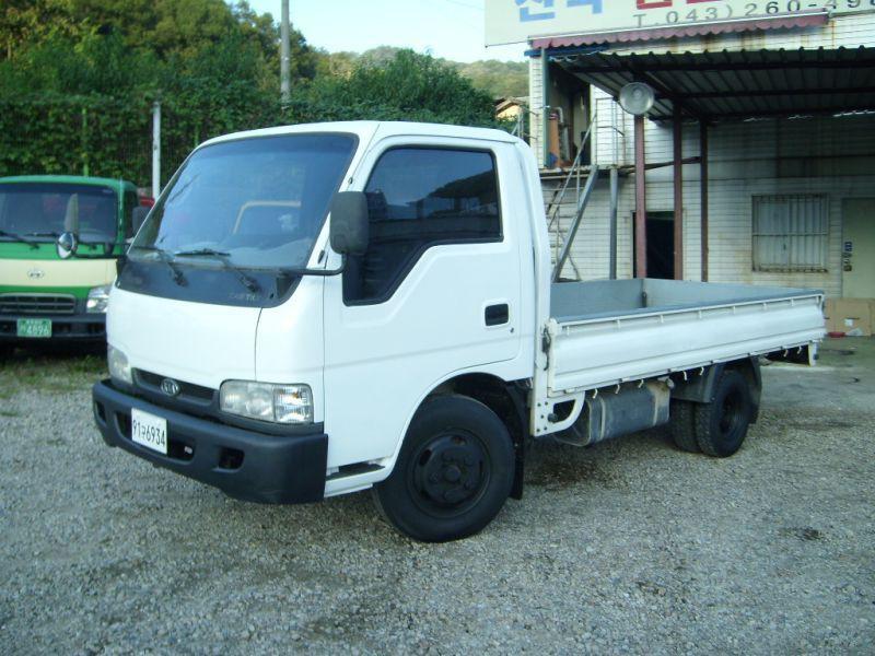 Kia Bongo Standard Cab борт 2-дв., 1997–2000, Frontier, 2.7 D MT (83 л.с.), характеристики