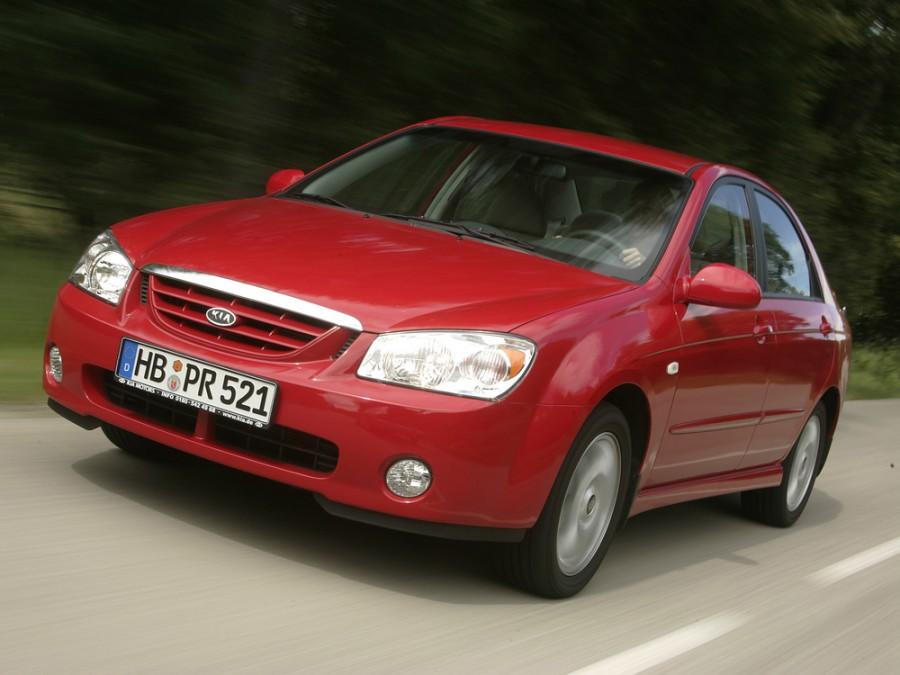 Kia Cerato седан, 2004–2006, 1 поколение - отзывы, фото и характеристики на Car.ru