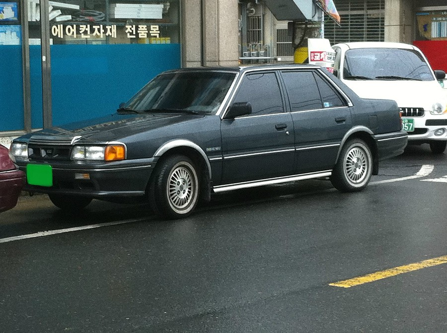 Kia Capital седан, 1991–1994, 1 поколение [рестайлинг] - отзывы, фото и характеристики на Car.ru