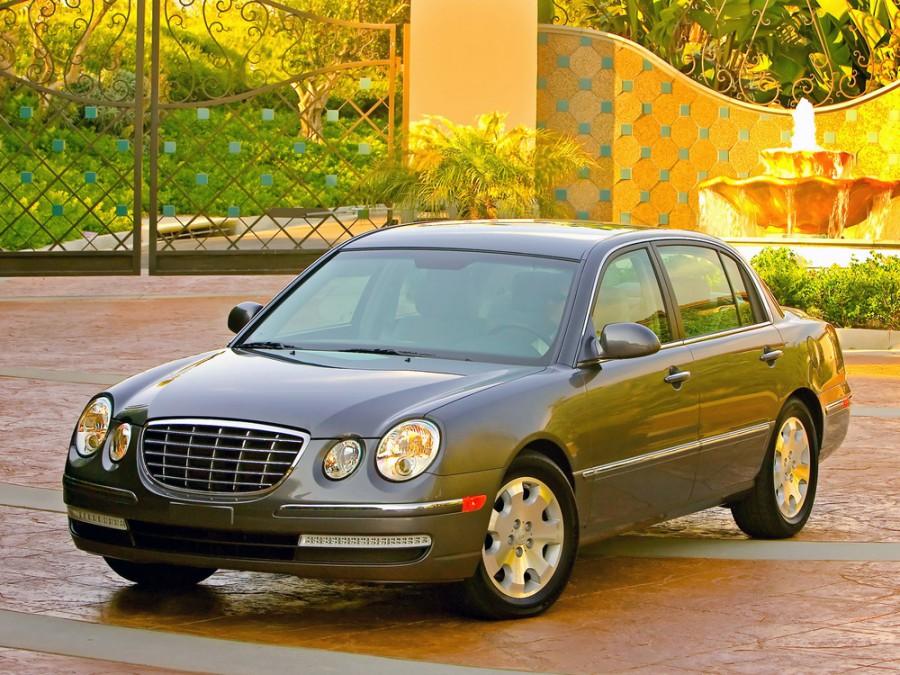 Kia Amanti седан, 2007–2009, 1 поколение [рестайлинг] - отзывы, фото и характеристики на Car.ru