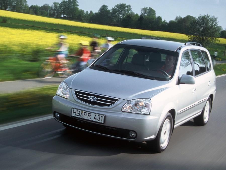 Kia Carens минивэн, 2002–2006, 2 поколение - отзывы, фото и характеристики на Car.ru