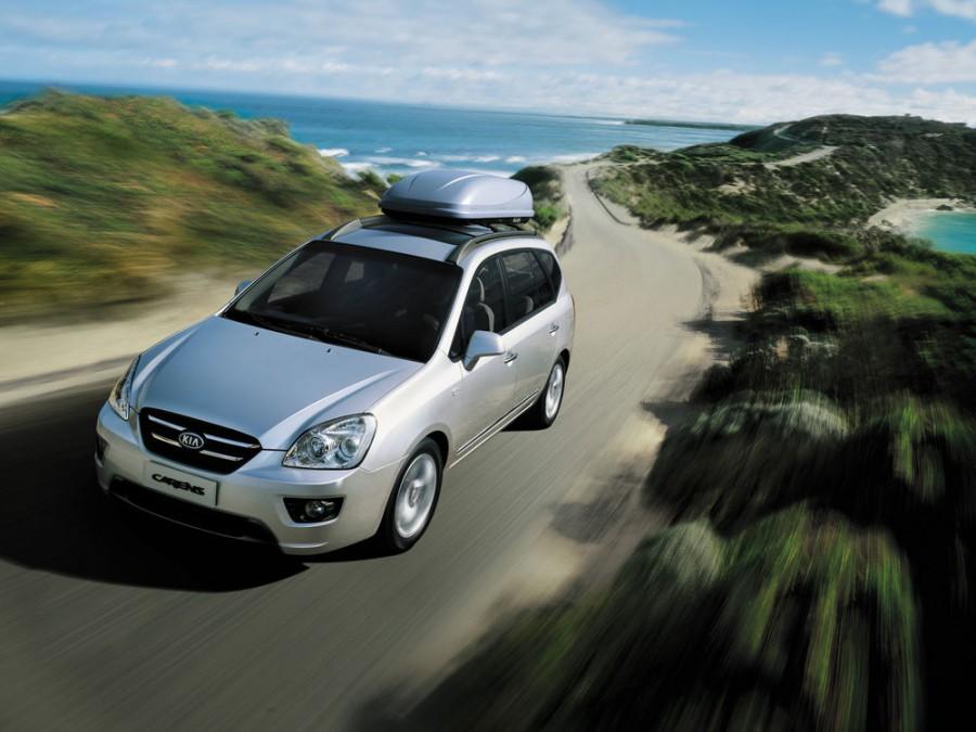 Kia Carens минивэн, 2006–2010, 3 поколение - отзывы, фото и характеристики на Car.ru