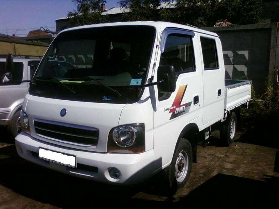 Kia Bongo Double Cab борт 4-дв., 2000–2004, Frontier [рестайлинг] - отзывы, фото и характеристики на Car.ru