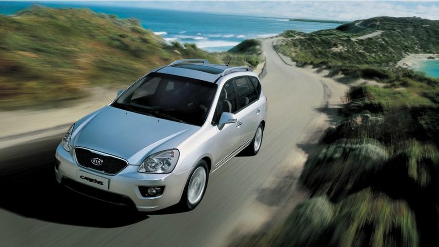 Kia Carens минивэн, 2010–2012, 3 поколение [рестайлинг] - отзывы, фото и характеристики на Car.ru