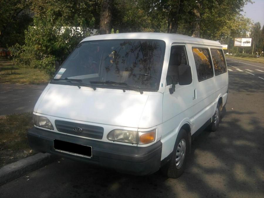 Kia Besta микроавтобус, 1996–1999, 1 поколение [2-й рестайлинг] - отзывы, фото и характеристики на Car.ru