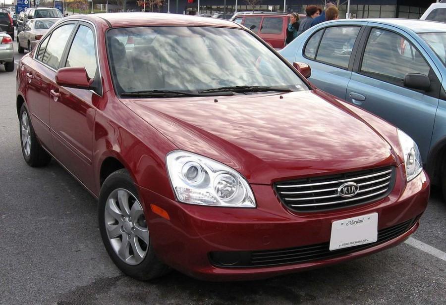 Kia Lotze седан, 2005–2006, 1 поколение, 2.4 AT (166 л.с.), характеристики