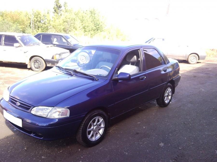 Kia Avella Delta седан, 1994–1997, 1 поколение - отзывы, фото и характеристики на Car.ru