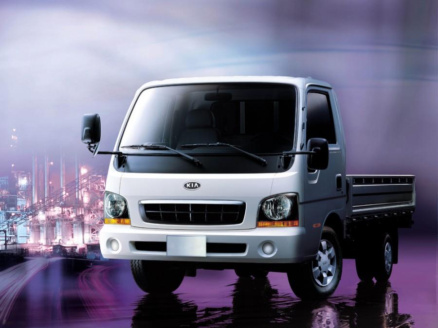 Kia Bongo Standard cab борт 2-дв., 2000–2004, Frontier [рестайлинг] - отзывы, фото и характеристики на Car.ru