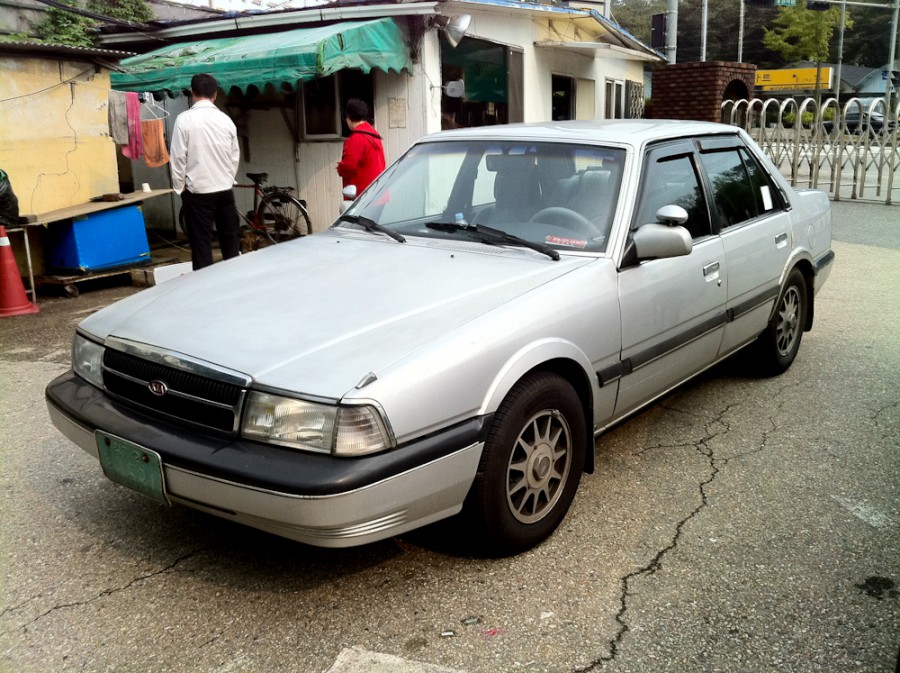 Kia Concord седан, 1991–1995, New [рестайлинг] - отзывы, фото и характеристики на Car.ru