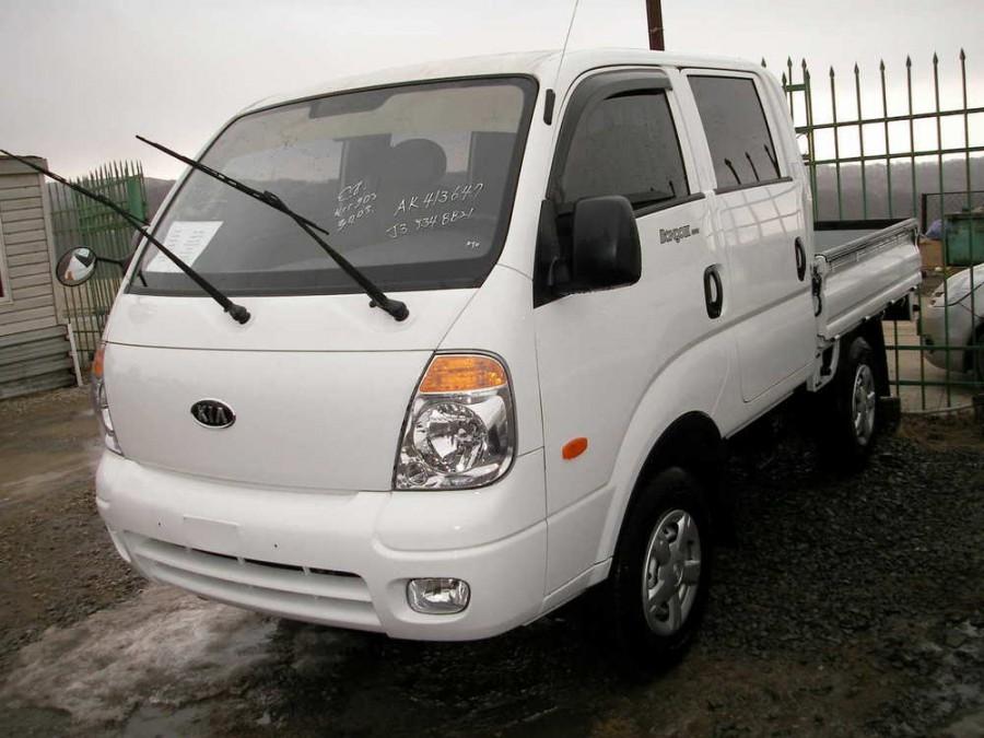 Kia Bongo Double Cab борт 4-дв., 2004–2012, III - отзывы, фото и характеристики на Car.ru