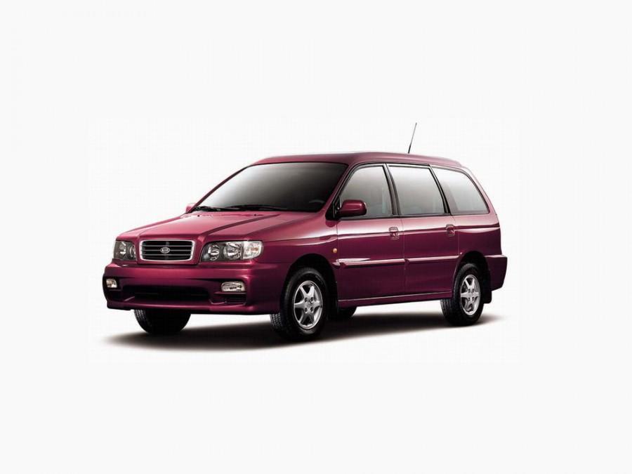 Kia Joice минивэн, 2000–2002, 1 поколение, 2.0 AT (120 л.с.), характеристики