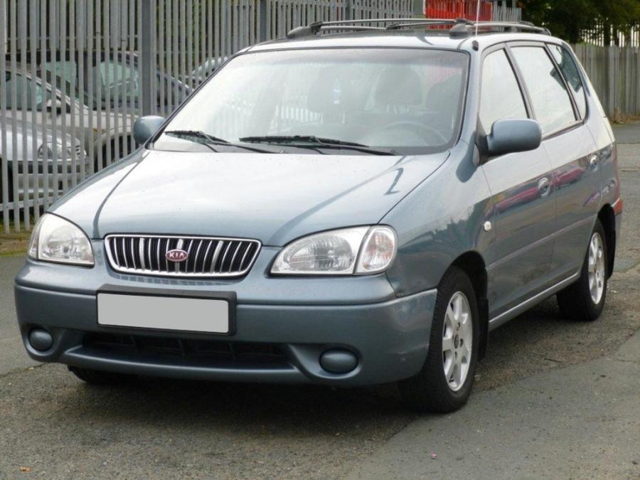 Kia Carens минивэн, 2000–2002, 1 поколение - отзывы, фото и характеристики на Car.ru
