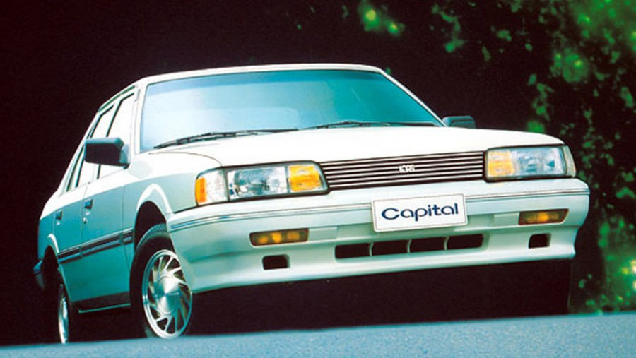 Kia Capital седан, 1989–1991, 1 поколение - отзывы, фото и характеристики на Car.ru