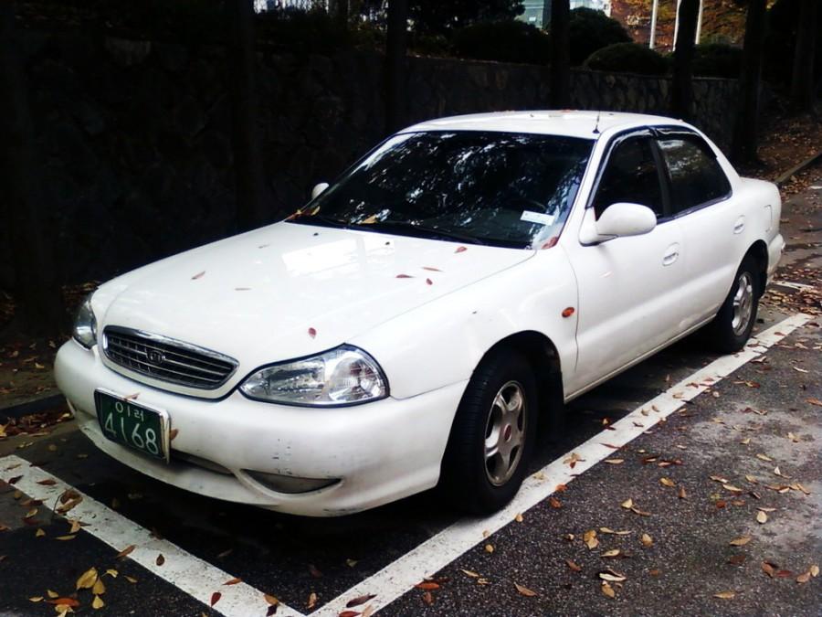 Kia Clarus седан, 1998–2001, 1 поколение [рестайлинг] - отзывы, фото и характеристики на Car.ru