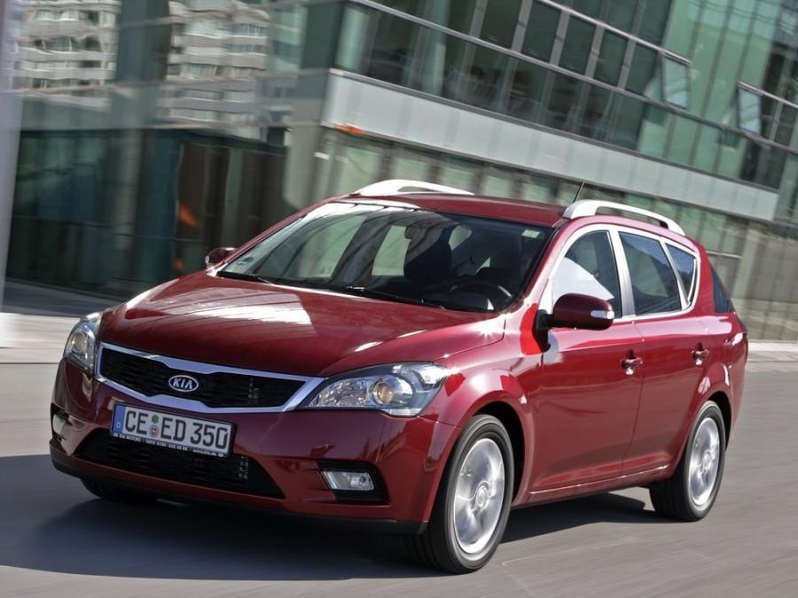 Kia Ceed SW универсал, 2010–2012, 1 поколение [рестайлинг] - отзывы, фото и характеристики на Car.ru