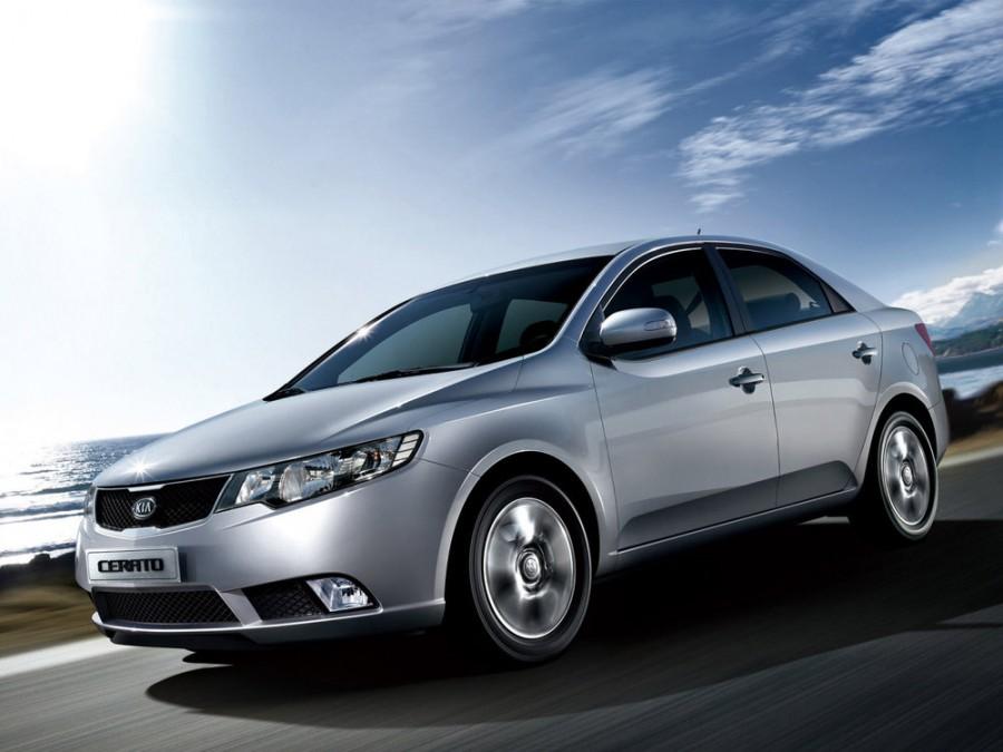 Kia Cerato седан, 2009–2013, 2 поколение - отзывы, фото и характеристики на Car.ru