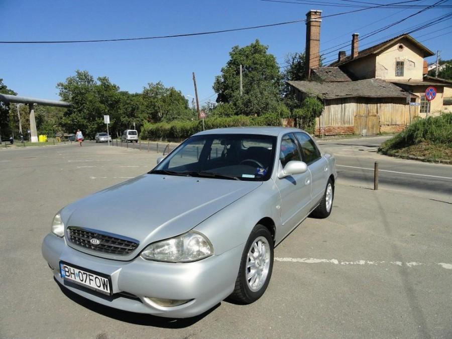 Kia Credos седан, 1998–2000, 1 поколение [рестайлинг] - отзывы, фото и характеристики на Car.ru