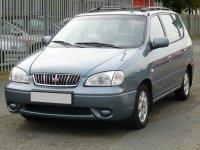 Kia Carens, 1 поколение, Минивэн, 2000–2002