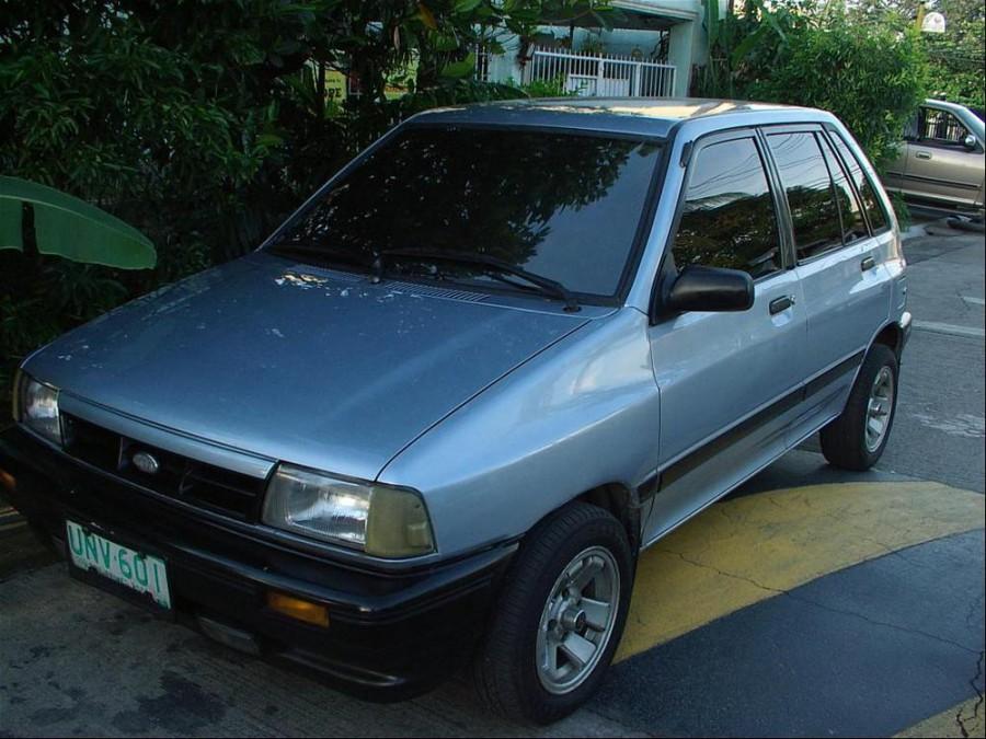 Kia Pride хетчбэк 5-дв., 1987–2000, 1 поколение - отзывы, фото и характеристики на Car.ru
