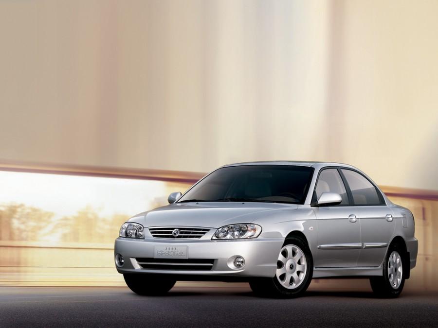 Kia Spectra седан, 2003–2004, 1 поколение [2-й рестайлинг], 1.5 AT (108 л.с.), характеристики
