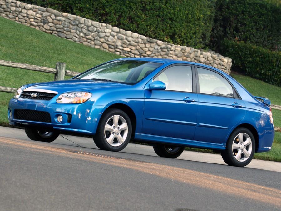 Kia Spectra седан, 2007–2009, 2 поколение [рестайлинг] - отзывы, фото и характеристики на Car.ru
