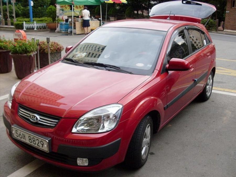 Kia Pride хетчбэк, 2005–2009, New, 1.6 MT (112 л.с.), характеристики