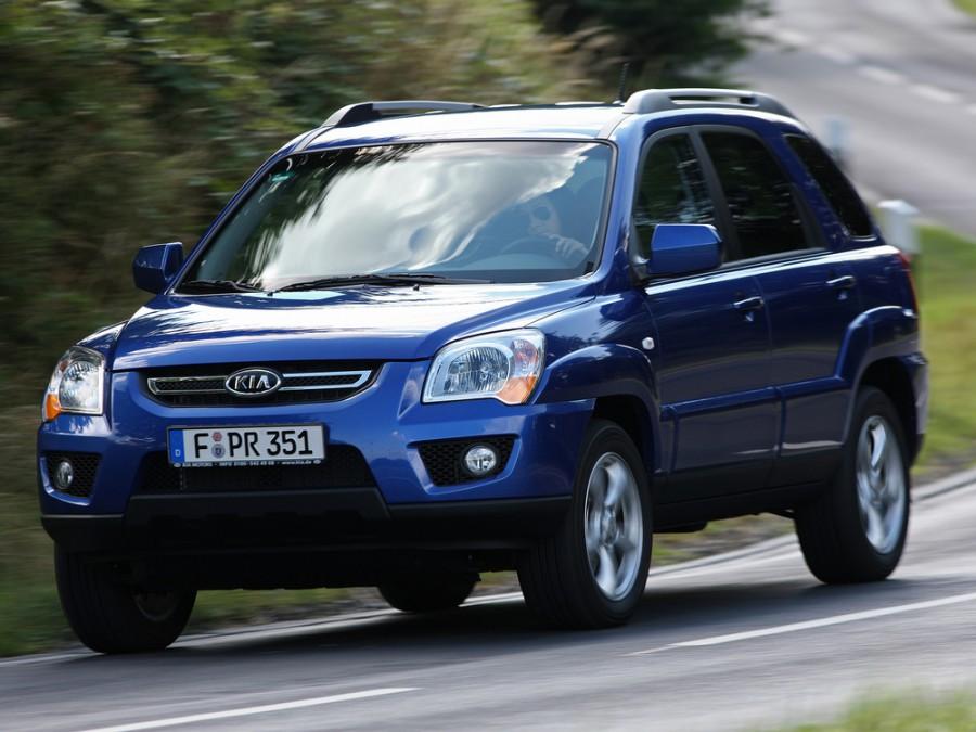 Kia Sportage кроссовер, 2008–2010, 2 поколение [рестайлинг] - отзывы, фото и характеристики на Car.ru