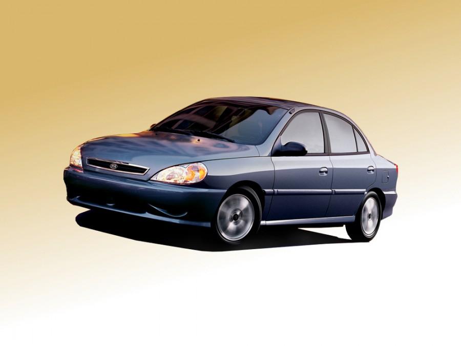 Kia Rio седан, 1999–2002, 1 поколение - отзывы, фото и характеристики на Car.ru