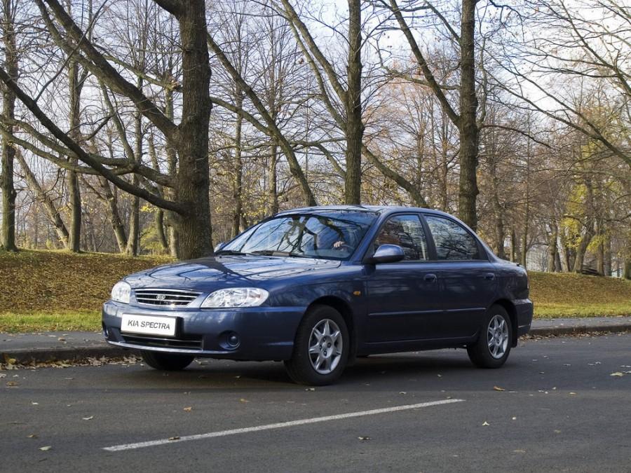 Kia Spectra седан 4-дв., 2001–2011, 1 поколение [рестайлинг] - отзывы, фото и характеристики на Car.ru