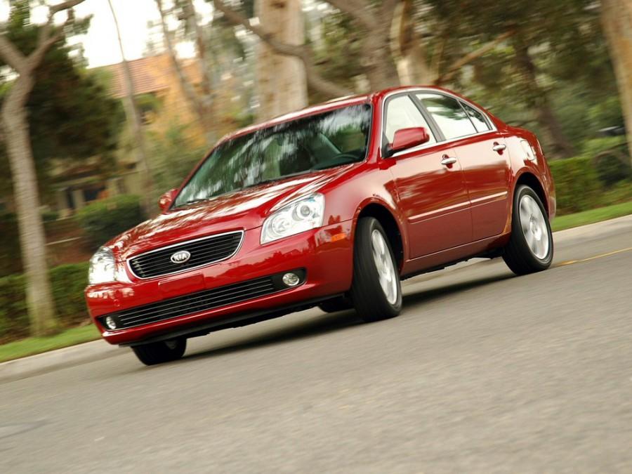 Kia Optima седан, 2006–2008, 2 поколение - отзывы, фото и характеристики на Car.ru