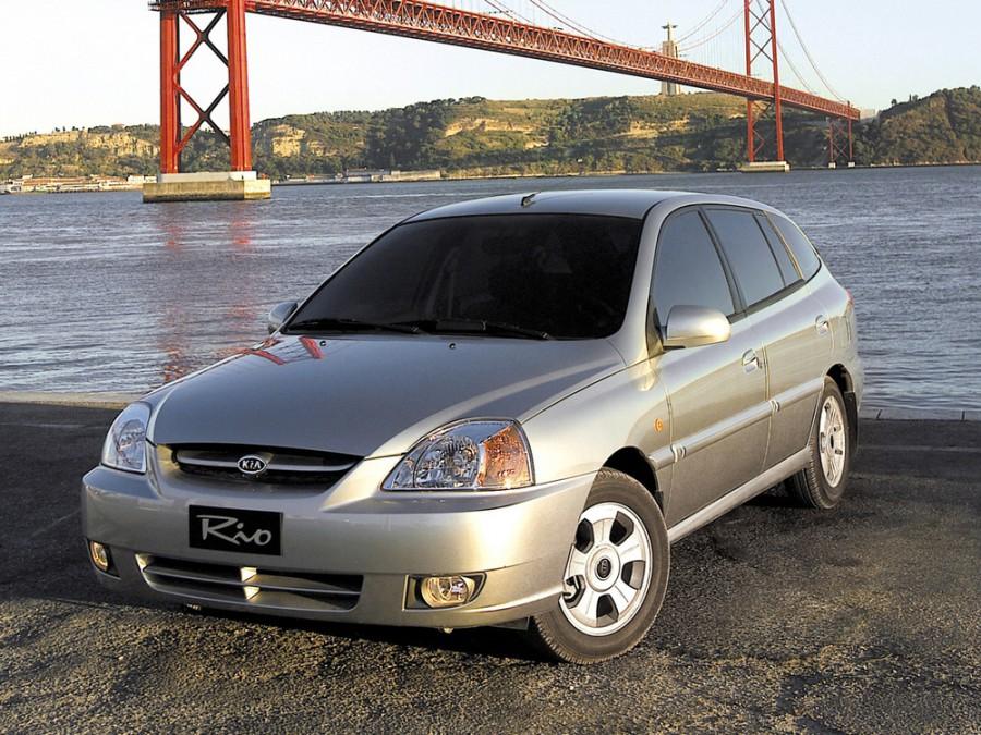 Kia Rio универсал, 2002–2005, 1 поколение [рестайлинг] - отзывы, фото и характеристики на Car.ru