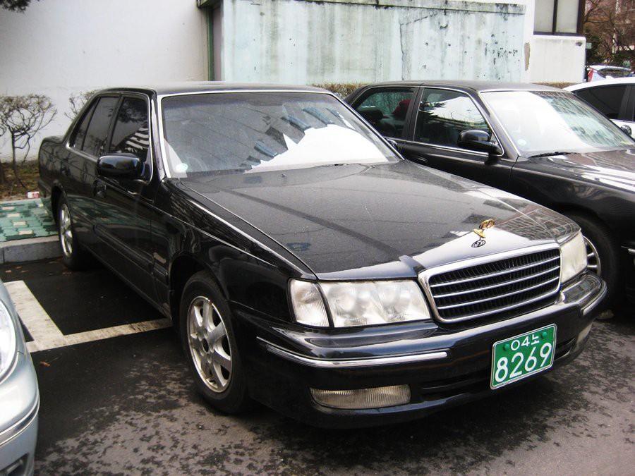Kia Potentia седан, 1998–2001, New [рестайлинг] - отзывы, фото и характеристики на Car.ru
