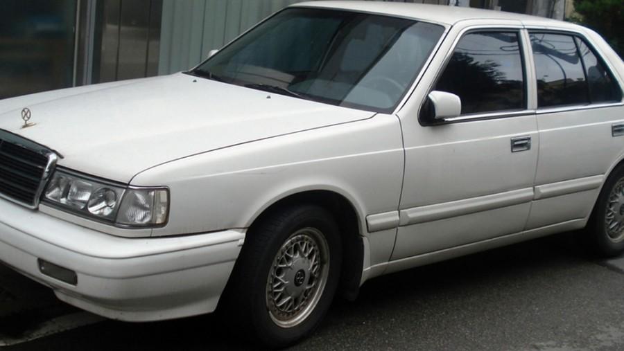 Kia Potentia седан, 1992–1997, 1 поколение - отзывы, фото и характеристики на Car.ru