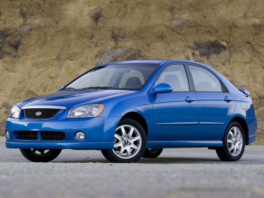 Kia Spectra седан, 2004–2006, 2 поколение - отзывы, фото и характеристики на Car.ru