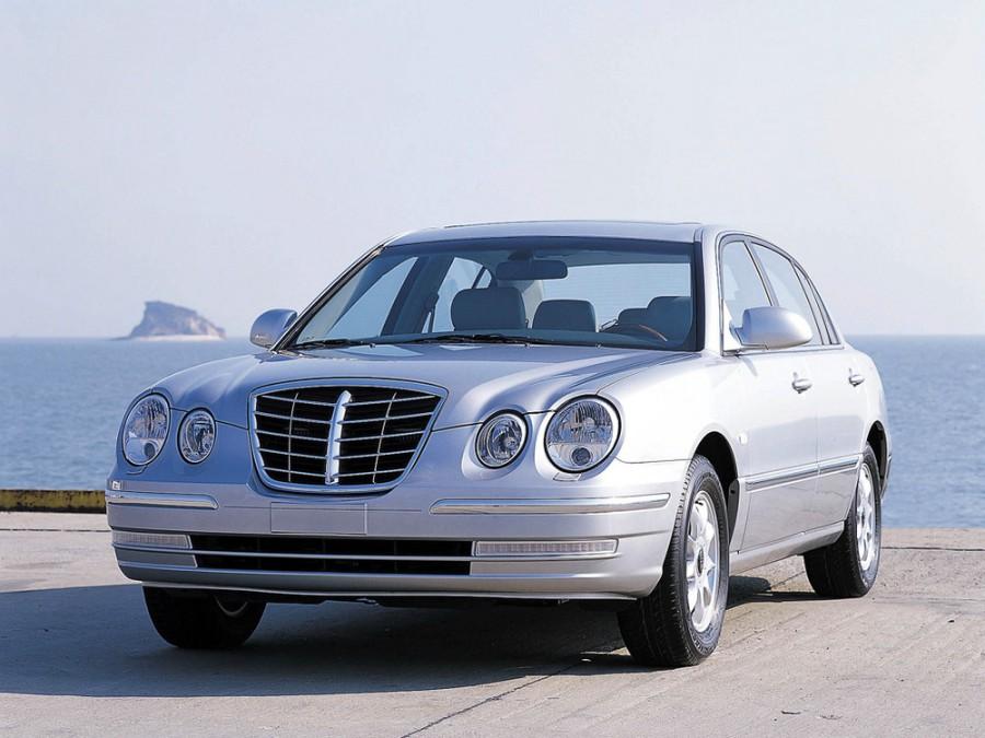 Kia Opirus седан, 2003–2007, 1 поколение - отзывы, фото и характеристики на Car.ru