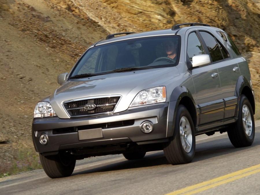 Kia Sorento кроссовер, 2002–2006, 1 поколение - отзывы, фото и характеристики на Car.ru