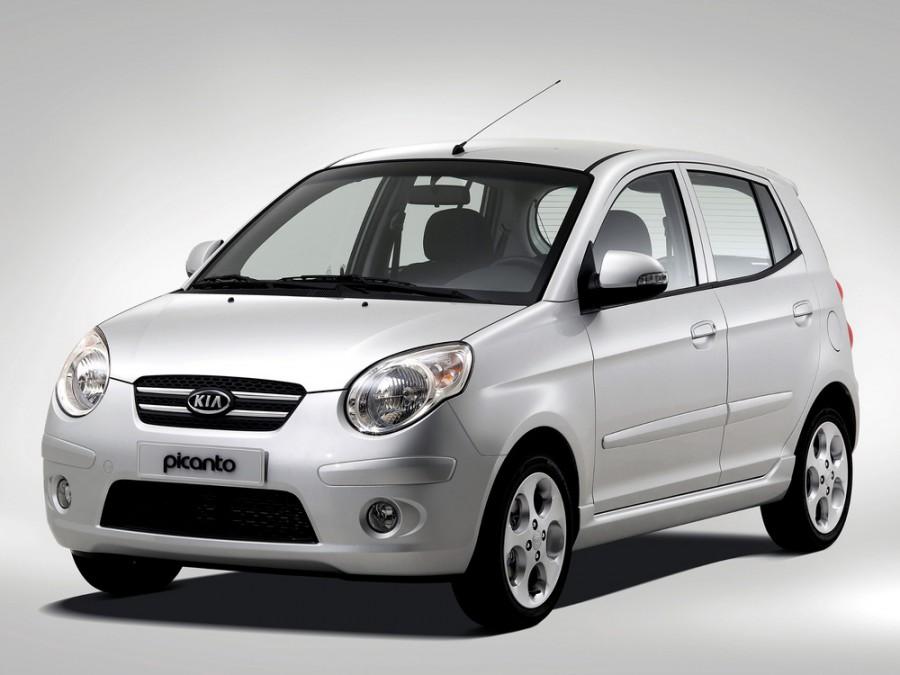 Kia Picanto хетчбэк, 2007–2008, 1 поколение [рестайлинг] - отзывы, фото и характеристики на Car.ru