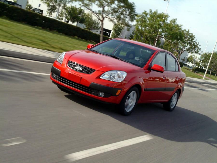 Kia Rio седан, 2005–2009, 2 поколение - отзывы, фото и характеристики на Car.ru