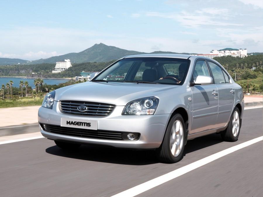 Kia Magentis седан, 2006–2008, 2 поколение - отзывы, фото и характеристики на Car.ru