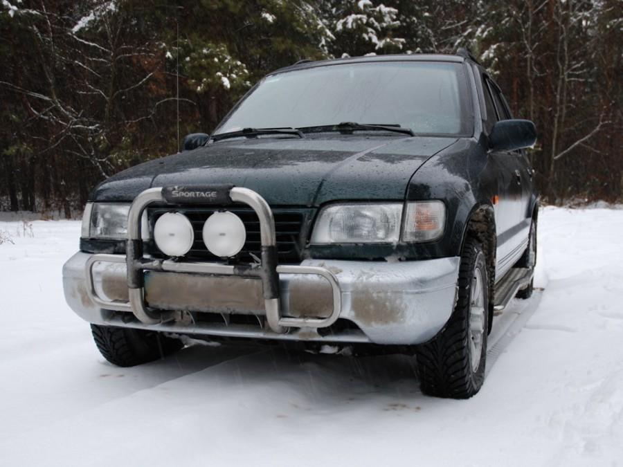 Kia Sportage внедорожник 5-дв., 1995–2004, 1 поколение - отзывы, фото и характеристики на Car.ru